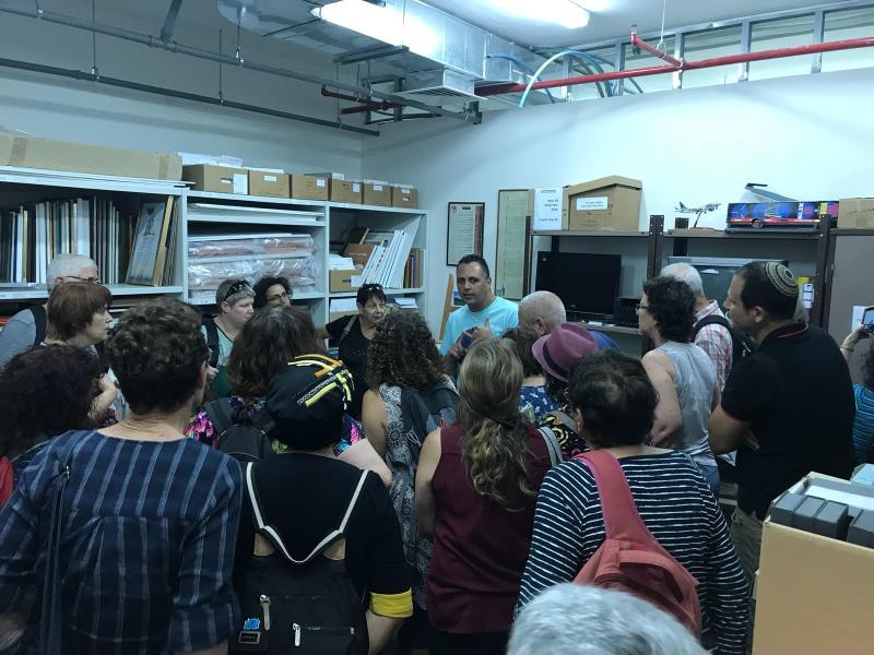 סיור ארכיונאים בגולן  31.7.2018