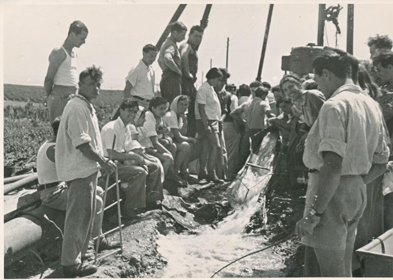 סוף-סוף מים. נען, 1937